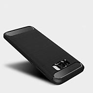Για Ανθεκτική σε πτώσεις tok Πίσω Κάλυμμα tok Μονόχρωμη Μαλακή TPU για Samsung S8 S8 Plus S7 edge S7 S6 edge S6