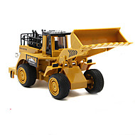Construction Vehicle Pull Back Vehicles Car Toys 1:32 Metal Khaki Model & Building Toy
