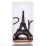 Käyttötarkoitus kotelot kuoret Hehkuu pimeässä Himmeä Läpinäkyvä Kuvio Takakuori Etui Eiffel-torni Pehmeä TPU varten SamsungJ7 (2016) J5
