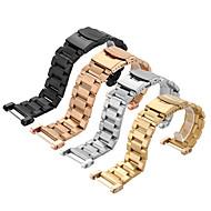 SUUNTO 코어 도구 스테인레스 스틸 시계 줄 고체 금속 시계 팔찌 스트랩 이중 보험 버클 24mm