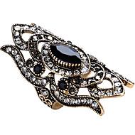 Pierscionek Duże pierścionki Unikalny Modny Postarzane Osobiste euroamerykańskiej luksusowa biżuteria Wyrazista biżuteria Szkło Stop