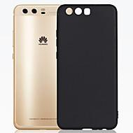 のために 超薄型 つや消し ケース バックカバー ケース ソリッドカラー ソフト TPU のために Huawei Huawei P10