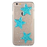 Voor apple iphone7 7 plus behuizing patroon achterkant behuizing glitter glans geometrisch patroon zachte tpu 6s plus 6 plus 6s 6