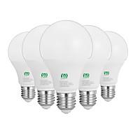 12W E26/E27 LED-globepærer 24 SMD 2835 1100-1200 lm Varm hvid Hvid Dekorativ Vekselstrøm100-240 V 5 stk.
