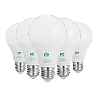 12W E26/E27 Lampadine globo LED 24 SMD 2835 1100-1200 lm Bianco caldo Bianco Decorativo AC100-240 V 5 pezzi
