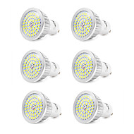 7W GU10 Spot LED 48 SMD 2835 600 lm Blanc Froid V 6 pièces