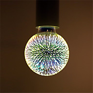 4W E27 LED-globepærer G95 28 Integreret LED 350 lm Varm hvid Dekorativ Vekselstrøm 85-265 V 1 stk.