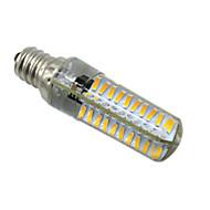 5W E14 E12 E17 BA15D LED Φώτα με 2 pin T 80 SMD 4014 400-500 lm Θερμό Λευκό Ψυχρό Λευκό Με Ροοστάτη AC 220-240 V 1 τμχ