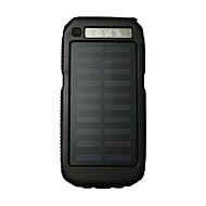 3led sos 8000mah 손전등 5v2a 휴대 전화 용 태양열 충전기