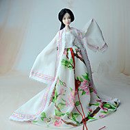 Ethnic Dresses For Barbie Doll Coat Dress For Girl's Doll Toy