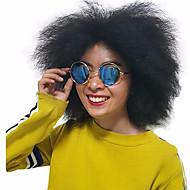 natuurlijke Pruiken synthetisch Zonder kap Pruiken Kort Zwart Haar