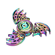 Fidget Spinner Toy Made of Titanium Alloy Ceramic Bearing Minutes Spinning Time High-Speed EDC Focus Toy for Killing Time