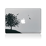 1 parça Çizilmeye Dayanıklı Çiçek/Botanik Şeffaf Plastik Vucüt Stickerları Tema IçinMacBook Pro 15'' with Retina MacBook Pro 15'' MacBook