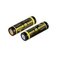 2 stuks XTAR 14500 800mAh 3.7V 2.96wh oplaadbare Li-ion batterij