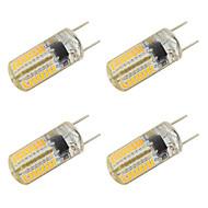 3W Żarówki LED bi-pin T 64 SMD 3014 260 lm Ciepła biel Zimna biel V 4 sztuki