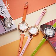 SK Damen Kleideruhr Modeuhr Armband-Uhr Simulierter Diamant Uhr Armbanduhr Halskettenuhr Japanisch Quartz Wasserdicht Schockresistent