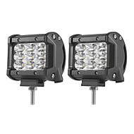 2db 27W-sorban árvíz helyszíni del fascio vezetett munka fénysáv offroad LED-vezérlő lampada 12 V 24 V per kamion SUV atv 4x4 4wd vezetett