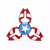 Super Hero Fidget Spinner Toys Hand Titanium Alloy EDC Focus ADHD Autism Anxiety Relief