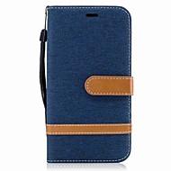 Til motorola g5 plus g5 kuffert kortholder lommebok med stativ flip magnetisk fuld kasse kasse farve blokke hårdt tekstil til motorola g4