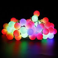 W Φώτα σε Κορδόνι lm AC220 AC 110-130 10 m 100 leds Θερμό Λευκό Λευκό Κόκκινο Κίτρινο Μπλε Ροζ Πολύχρωμα