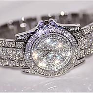 Damskie Do sukni/garnituru Modny Unikalne Kreatywne Watch Sztuczny Diamant Zegarek Zegarek na nadgarstek Zegarek na bransoletce Chiński