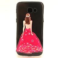 Samsung Galaxy a3 a5 (2017), valamint burkolata szexi lányok flash por a futóhomok TPU anyag diy telefon esetében a7 (2017) a3 a5 (2016)