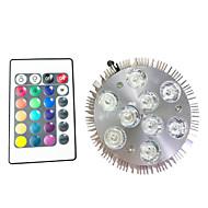9W Lampy szklarniowe LED 9 High Power LED 450 lm RGB V