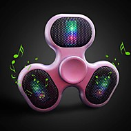 Outdoor fidget spinner luidspreker geleid bluetooth luidspreker spinner support tf kaart