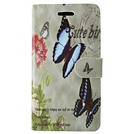 Case For Samsung Galaxy S7 S8 Rose Butterfly Full Body Cover with Card and Stand Case For S3 MINI S4 MINI S5 S5 MINI S6 S6 EDGE S5 Active