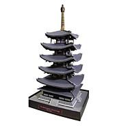 Puzzle Zestaw DIY Zabawki 3D Cegiełki DIY Zabawki Wieża Znane budynki