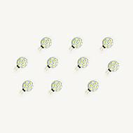 1.5W LED Φώτα με 2 pin 9 SMD 5630 160 lm Θερμό Λευκό Άσπρο DC 12 V 10 τμχ