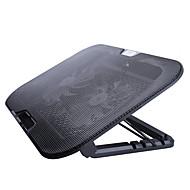 Regulacja stojaka Składany Inne laptopa Macbook Laptop Stojak z adapterem Stań z chłodzącym wentylatorem Metal