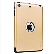 Voor apple ipad mini 3/2/1 case hoesje met achterkant hoesje vaste kleur harde pc