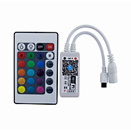 Mini ir 24 sleutel wifi led controller smartphone app controle met iOS Android (rgb / rgbw / rgbwc)