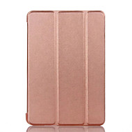 Case cover til pad pro 10,5 ipad (2017) flip hele kropscase fast farve hard pu læder til ipad air 2 air mini 4 mini1.2.3 ipad 2.3.4