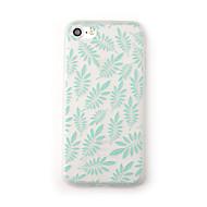 Tapaus Apple iPhone 7 plus 7 kotelopäällinen himmeä läpikuultava kuvio takakannen tapauksessa kukka puu pehmeä tpu iphone 6s plus 6 plus