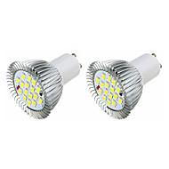 3.5 LED szpotlámpák MR16 16 SMD 5630 360-400 lm Meleg fehér Fehér AC 220-240 V 2 db.