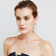 Damskie Kolczyki wiszące Pearl imitacja sztuczna DiamentOsobiste euroamerykańskiej Film Biżuteria luksusowa biżuteria Wyrazista biżuteria