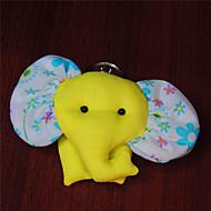 Τσάντα / τηλέφωνο / keychain γοητεία ελέφαντα cartoon παιχνίδι πολυεστέρα τυχαίο χρώμα