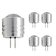 1W LED Bi-pin Işıklar T 1 Yüksek Güçlü LED 90 lm Sıcak Beyaz Serin Beyaz DC 12 V 1 parça G4