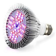 12W E26/E27 LED-kweeklampen 48 SMD 5730 2400-2600 lm Rood Blauw AC 85-265 V 1 stuks