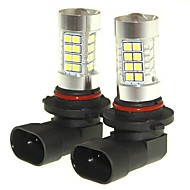 Sencart 2pcs 9006 p20d mistlicht licht koplamp lampen lampjes (wit / rood / blauw / warm wit) (dc / ac9-32v)