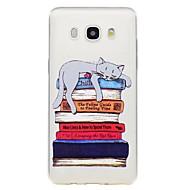 Case voor Samsung Galaxy J7 2017 j5 2017 telefoon hoesje kat patroon emboss soft tpu materiaal telefoon hoesje j3 2017 j710 j510 j310 j3