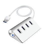 4 منافذ أوسب هاب USB 3.0 مسك البيانات مدخلاتحماية حماية فوق المدى مركز البيانات