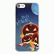 Iphone 7plus kotelo kattaa läpinäkyvä kuvio takakannen tapauksessa sarjakuva halloween hauska pehmeä tpu iphone 7 6splus 6plus 6s 6 5 5s