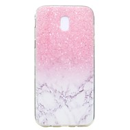 Hoesje voor Samsung Galaxy j7 2017 j5 2017 hoesje hoesje marmer patroon tpu hoge zuiverheid doorschijnend zachte telefoon hoesje voor j3