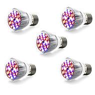 5W E14 GU10 E27 Lampy szklarniowe LED 28 SMD 5730 800 lm Ciepła biel Biały Czerwony Niebieski AC 85-265 V 5 sztuk