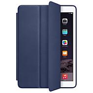 Για Θήκες Καλύμματα Ανθεκτική σε πτώσεις Αυτόματο ύπνος/αφύπνιση Πλήρης κάλυψη tok Συμπαγές Χρώμα Σκληρή PU Δέρμα για Apple IPad pro 10.5