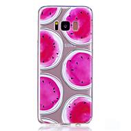 Hoesje voor Samsung Galaxy S8 S8 Plus Hoesje Watermeloen patroon Geschilderd Hoge penetratie TPU Materiaal Zachte Hoes Telefoon Hoesje