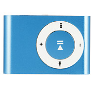 1-8GB ondersteuning micro sd tf fashion mini clip metalen usb mp3 muziek mediaspeler
